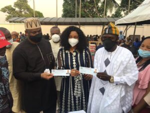 Ochei and wife after APC membership revalidation